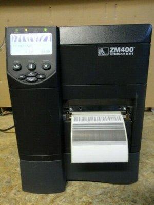 Zebra ZM400 * Thermal Transfer Label Printer 300DPI + Network