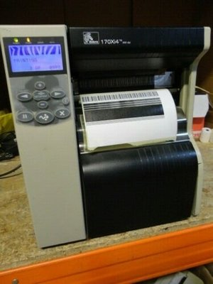 Zebra 170Xi 4 - 300dpi Thermische Barcode Label Printer USB + NETWORK