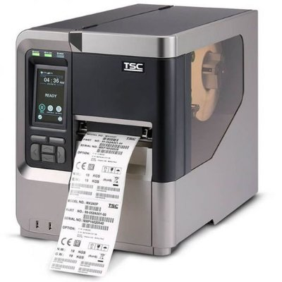 TSC MX340P Thermal Transfer Label Printer USB + Network 300DPI