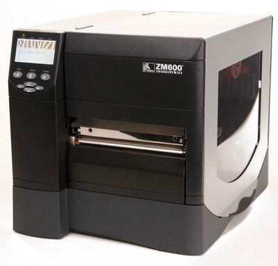 Zebra ZM600 * Thermische  Label Printer with NEW 200DPI Printhead USB & Network