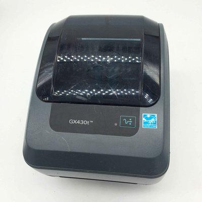 Zebra GX430t Thermal Transfer Barcode Label Printer 300dpi - USB & network