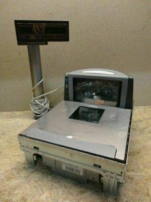 PSC Datalogic Magellan 8400 Table Scanner with Bizerba Scale 15kg & Display