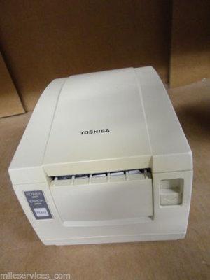 Toshiba TRST-56 POS Thermische Kassa Bon Printer Serieel + PSU