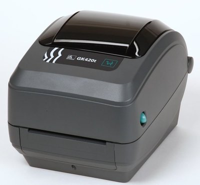 Zebra GK420t Barcode Label Printer - NIEUW