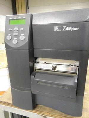 Zebra Z4M Plus Thermal Transfer Printer RJ-45 Network + Cutter