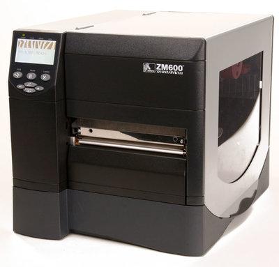 Zebra ZM600 * Thermische  Label Printer 300DPI USB & Network