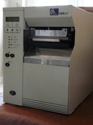 Zebra 105SL Thermal WIFI Netwerk Label Printer - 203Dpi