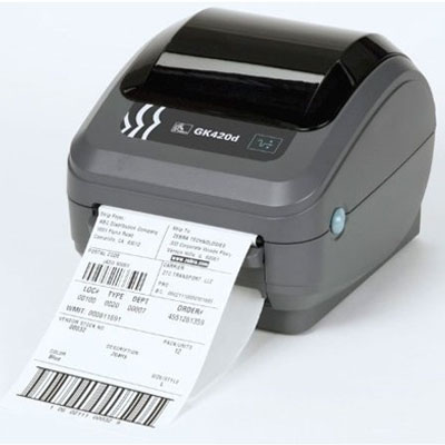 Zebra GK420d Barcode Label Printer RJ-45 Network  - NEW