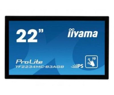 IIYAMA PROLITE TF2234MC - 22 Inch Widescreen Multitouch Display LCD/ USB PLC2234