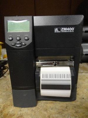 Zebra ZM400 * Thermisch Transfer Label Printer 203DPI - USB + RJ-45 + CUTTER