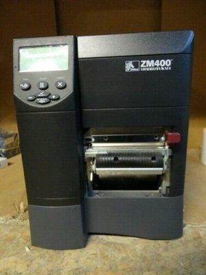 Zebra ZM400 * Thermisch Transfer Label Printer 203DPI - USB + RJ-45 + PEEL
