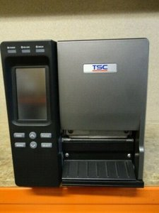 TSC TTP-2410MT  Barcode Label Printer With PEEL OFF - USB + Network