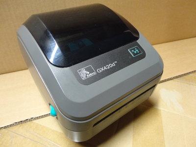 Zebra GX420d Barcode Label Printer USB